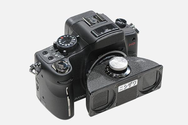 3Dデジタルビデオカメラ