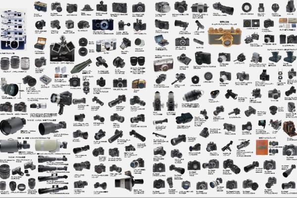 西沢学園にしかないカメラ・レンズ