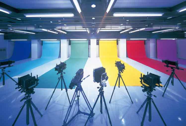 5つのカメラワーク・ライティングスタジオ